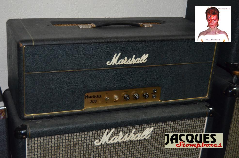 Vintage Marshall amps - Jacques Stompboxes